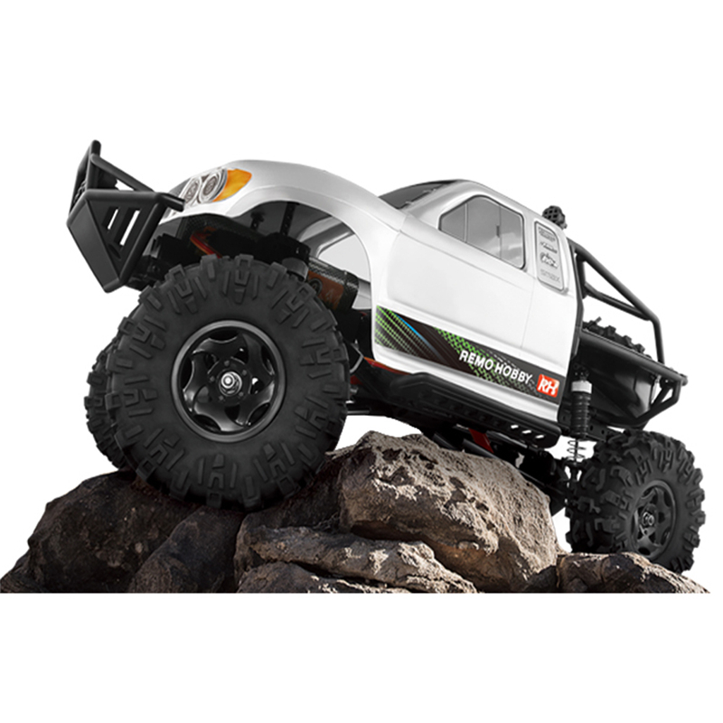 2018 New Arrivals Remo Hobby 1093-ST 1/10 2.4G 550 Brush Motor 4WD Brushed Rc Car Off-road Rock Crawler Trail Rigs Truck RTR Toy remo hobby 9emu 4wd rtr