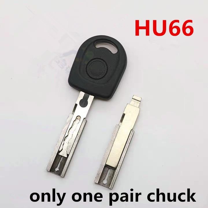 Key Machine Fixture Parts HU66 Chuck For 31# 89# 86# Key Blank Cutting For WENXING DEFU Key Duplicating Machines Clamp
