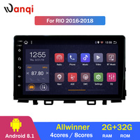 2G RAM 32G ROM Android 8.1 Car Audio Player 9inch For KIA k3 RIO 2017 Car GPS Navigation With Playstore,Wifi