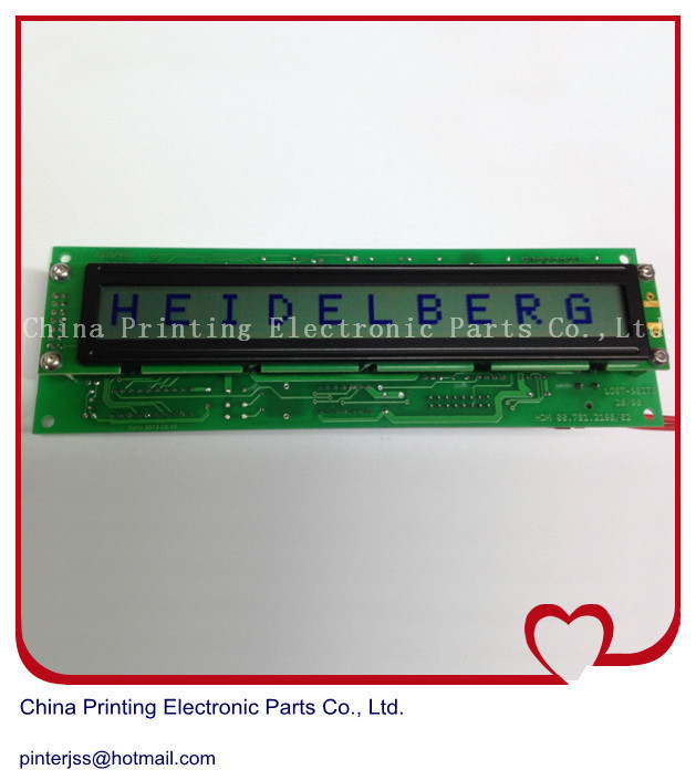 (only display)Heidelberg MID control display screen and is compatible motherboard MID93 00.781.2196/02