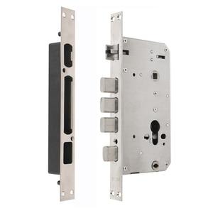 Image 4 - RAYKUBE 자리 지문 도어 잠금 장치가없는 항목 RFID 리더와 홈 보안을위한 스마트 도난 방지 잠금 장치 R FZ3