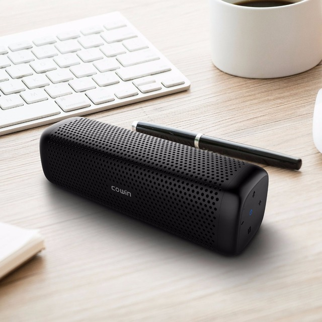 Cowin 6110 Bluetooth 4.1 Stereo Portable Speaker with 16W Enhanced Bass TF Card 6
