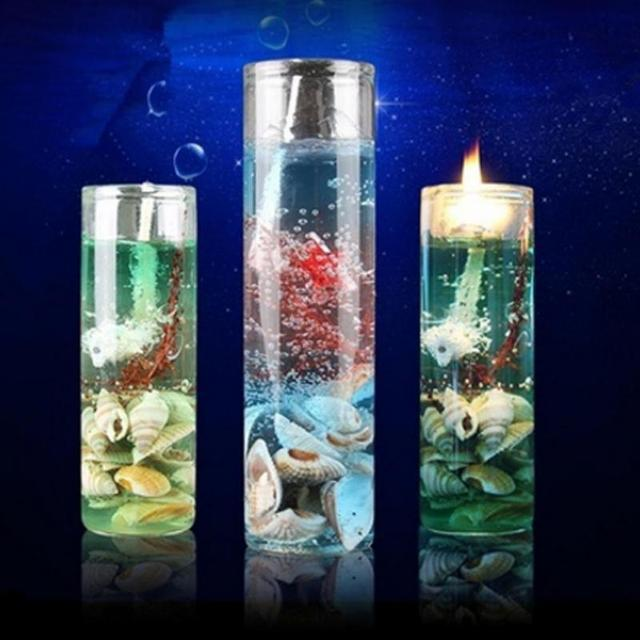 Romantic Ocean Shells Scented Candles