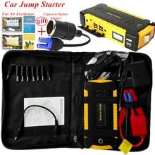 High Capacity Car Jump Starter Petrol 6 0L Diesel 4 0L Portable Power Bank 600A 12V