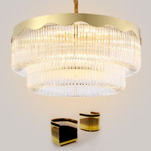 Post Modern Crystal Chandelier Golden Crystal Chandeliers Lighting Fixture LED Lamps Luxury Round Home Indoor Lighting new design led crystal light ceiling crystal chandelier modern home chandeliers