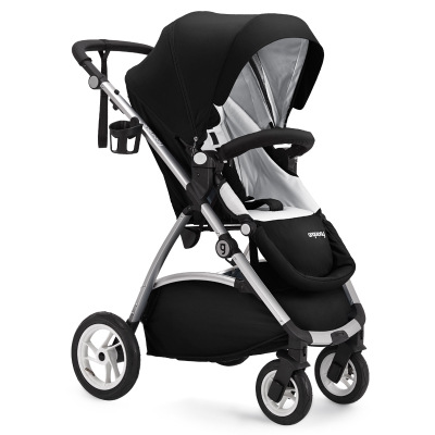 Baby trolley European high landscape baby carriage can be lying can sit dual-use baby stroller handrail adjustable Umbrella cart 30% dual use cart