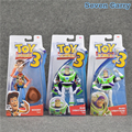 new Anime Toy Story 3 Buzz Lightyear Woody PVC Action Figure Collection Model Toy Gift Doll 3pcs