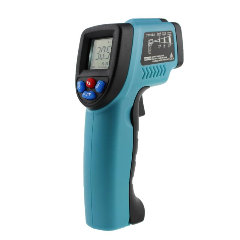 VKTECH -50~550C Thermometer Digital Laser Point Temperature Gun Non-Contact IR Infrared Thermometer Precise infrared thermometer