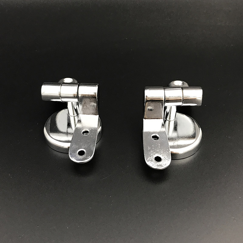 Smile Monkey Bathroom zinc alloy toilet seat hinges toilet lid hinge with screw fittings hardware Accessories in Toilet Seats from Home Improvement