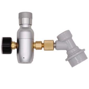 Image 1 - Homebrew Kegging Premium Gereglementeerde Compact CO2 Charger met Bal Lock Gas Disconnect 60/150 psi 3/8 18UNF Gratis Verzending