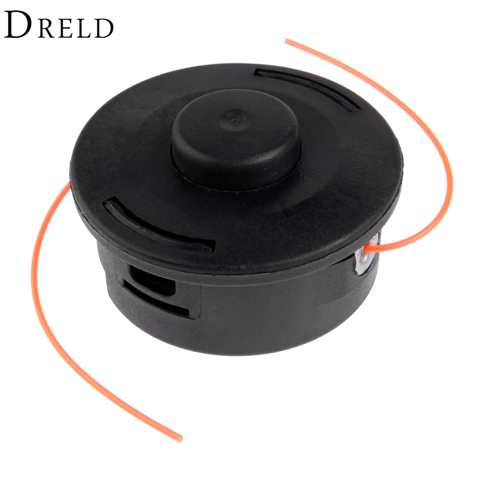 DRELD Double Line Bump Feed Trimmer Head M10*1.25 for STIHL FS80 FS81 FS85 FS86 FS87 FS100 FS106 Brushcutter Trimmer Lawn Mower 1pcs nylon line brush cutter head garden lawn mower bump grass brush trimmer head garden repalcement tools black