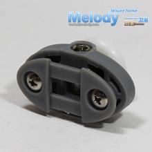 Me-005TS+BS single wheel shower Door Roller accessories C-C 30mm Bathroom fittings