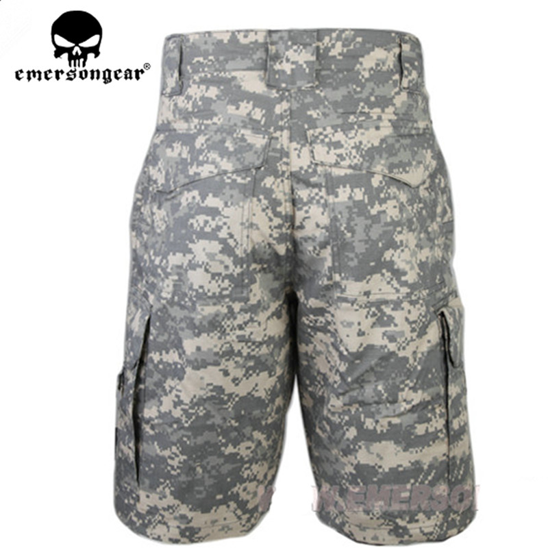 ACU Tactical Short Pants EMERSON All-weather Outdoor Shorts Sport Camouflage Jams Multicam TAN OD BLACK ACU WL