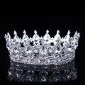 2017 Hot Modelos Europeus Vintage Pavão Cristal Da Tiara Do Casamento Coroa de Noiva Tiaras Acessórios de Strass Tiaras Coroas Pageant