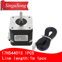3D printer motor 4-lead Nema17 Stepper Motor 42 motor Nema 17 motor 42BYGH 1.7A (17HS4401S) motor for CNC XYZ