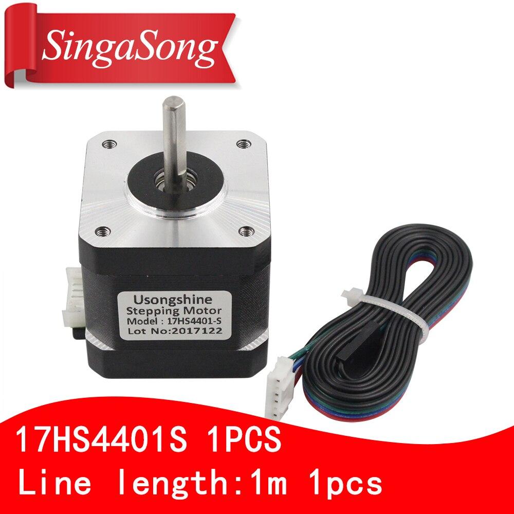 3D printer motor 4-lead Nema17 Stepper Motor 42 motor Nema 17 motor 42BYGH 1.7A (17HS4401S) motor for CNC XYZ