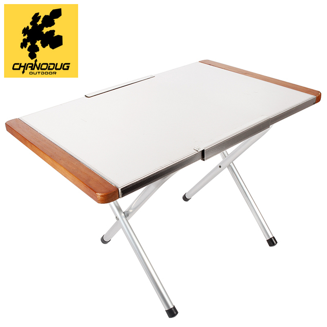 Chanodug Outdoor Folding Study Desk Dining Portable Bed Folding Table