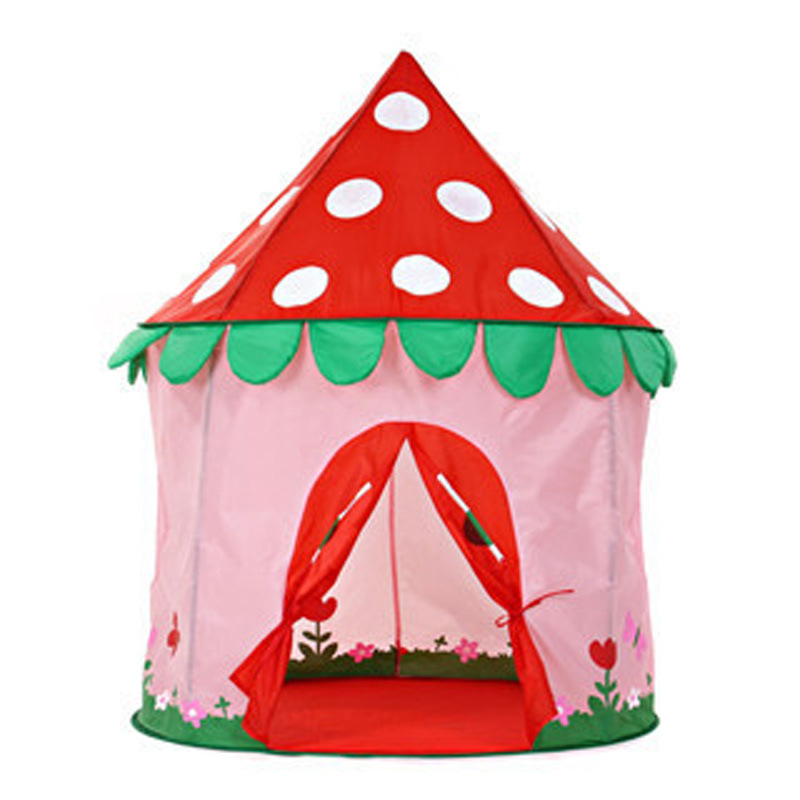 ФОТО Kids Mushroom Princess Castle Intelligence Toys Funny Game Play Tents For Children Tents D387
