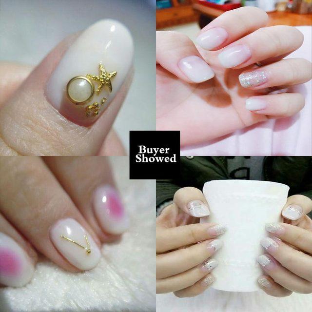 Online Shop Yiday 1pcs Milk White Soak off UV Gel Nail Polish Nail ...