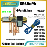 2HP Reversing Valves Used Air Source Heat Pump Air Conditioner As Liquid Line Key Component To