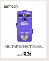 ammoon pockrock мульти-процессор эффектов гитары педаль эффектов 15 типов эффектов 40 барабан ритмы настройки функция с адаптеры питания
