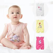 Fashion newborn baby girl clothes Orangemom Baby Girl romper cute Cartoon Short sleeve pure cotton  jumpsuit Cheap-clothes-china