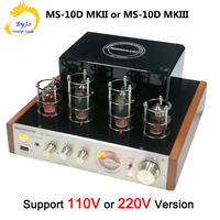 Nobsound MS 10D MKII MS 10D MKIII Tube Amplifier audio Power Vaccum Tube Amplifier Bluetooth amplifier 110V or 220V