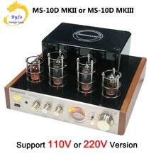 Ламповый усилитель Nobsound MS 10D MKII, ламповый усилитель звука, вакуумный трубчатый усилитель, Bluetooth усилитель 110 В или 220 В