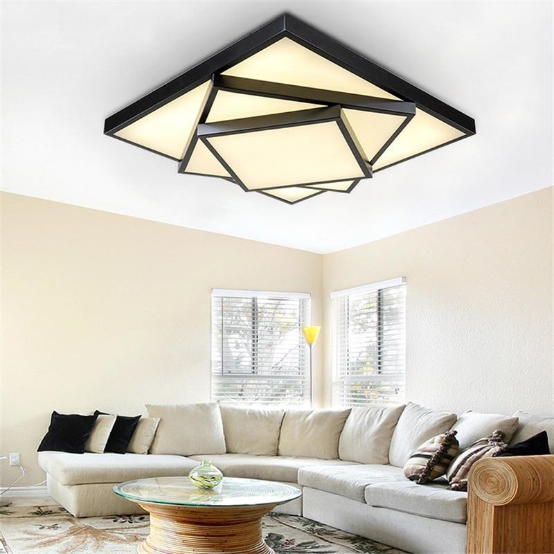 Modern Led Ceiling Lights For Indoor Lighting led Square Ceiling Lamp Fixture For Living Room Bedroom luminaria teto