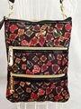 Famous brand gril triple zip crossbody  messenger bags Shining jewel bags skeleton garden bags