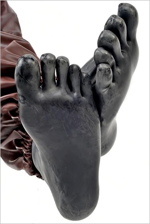 2016 promotion low price unisex sexy latex five fingers socks stockings  zentai costume fetish rubber short socks