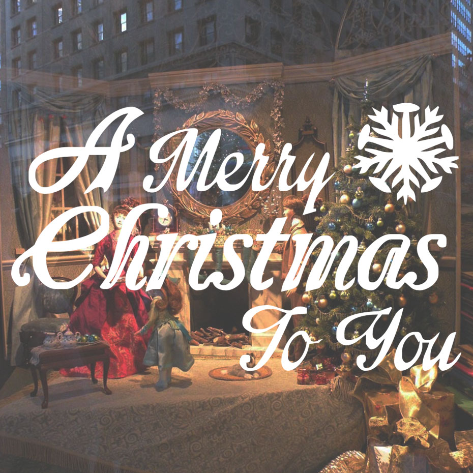 Giáng Sinh vui vẻ Thiệp Chúc Mừng Lễ Hội Vinyl Tường Sticker Cửa Sổ Cửa Hàng Wall Art Decal Poster Tường Trang Trí Nội Thất Christmas Trang Trí Cho Ngôi Nhà
