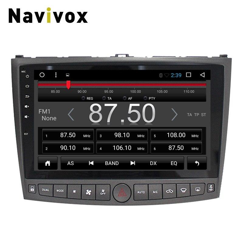 Navivox 10 ''2 din Android 7.1 pour Lexus IS 250 2009-2012 voiture GPS Navigation stéréo lecteur Audio autoradio GPS Navigation - 5