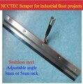 22 ''560 мм шириной скребок для эпоксидной проектов промышленных напольных самостоятельно поток | нержавеющая сталь Спайк борона с регулируем...