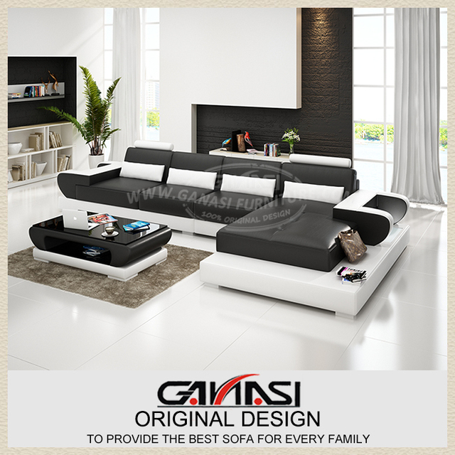 colorful furniture,leather fabric sectional sofa,modern style corner ...