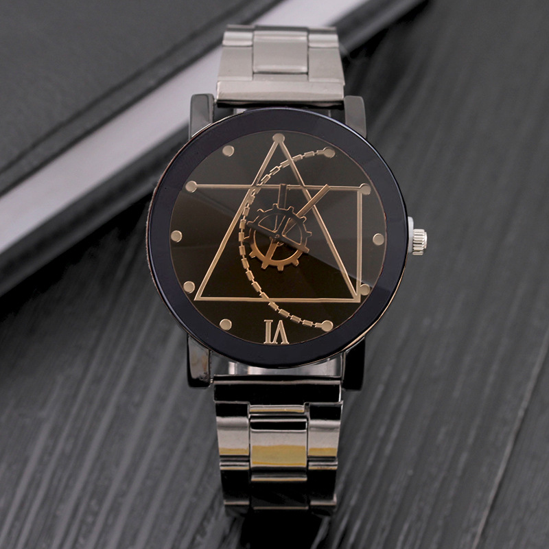 Chasy Hot Sale Fashion Geneva Men Women Silver Stainless Steel Casual Quartz Watch Black White Dial Lovers Sport Watch Relogios