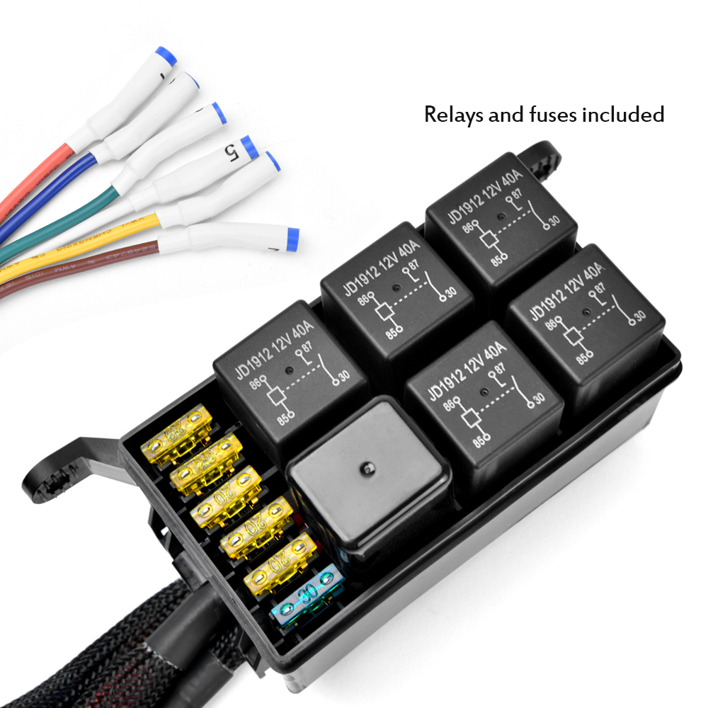 Relay Switch Vs Fuse