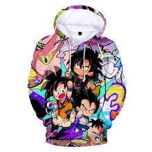 3D-Dragon Ball Super Broly  Style Cute Sweatshirt 2019 New Slim Fashion Casual Trend Street Hooded