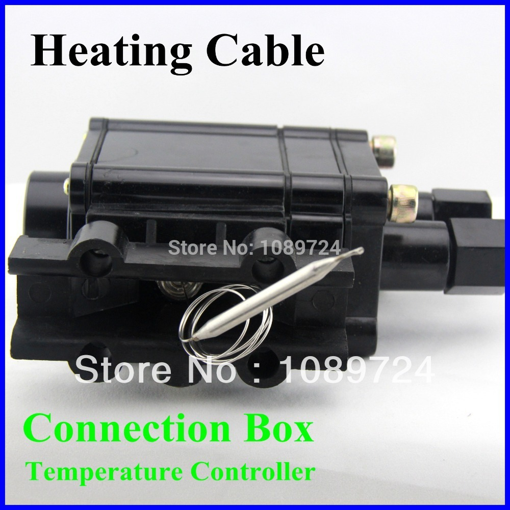 Heating Cable Junction Box,220V/230V Electric Cable Temperature Controller Connection Box 100ml 130w electric temperature regulation heating mantle temperature adjustable pthw