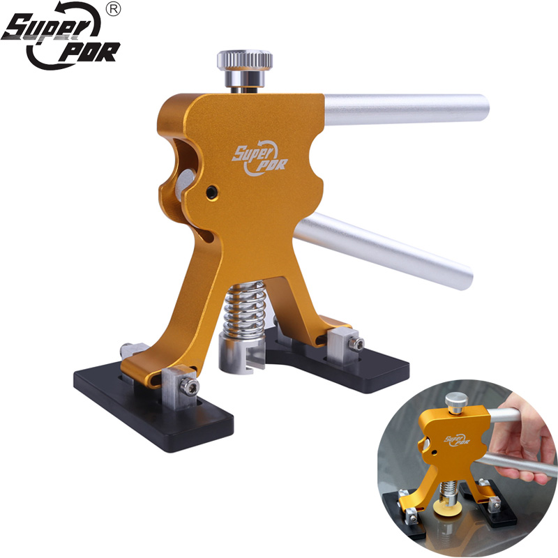 Hot Sale Super PDR Tools Kit Gold Dent Lifter Herramientas Paintless Dent Repair Tools Auto Car dent Puller Tool Suction CupsHot Sale Super PDR Tools Kit Gold Dent Lifter Herramientas Paintless Dent Repair Tools Auto Car dent Puller Tool Suction Cups