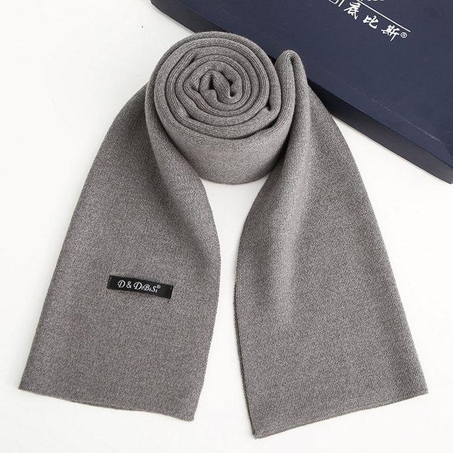2017 nova primavera outono inverno estilo hot homens cachecol mais alta-grade cashmere pure color negócios quentes negócio colarinho presentes