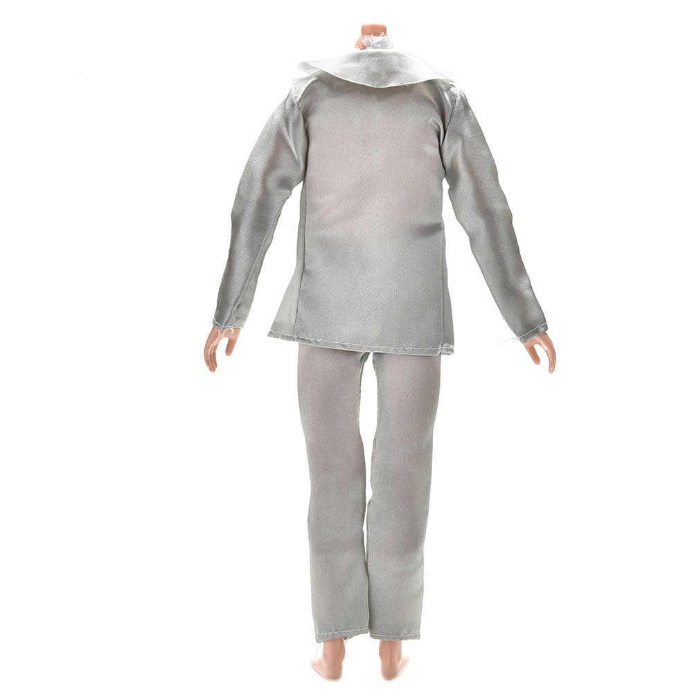 Plus récent 3 pièces/ensemble à la main poupée vêtements accessoires pour poupée Ken mariée costume avec chemise blanche pour garçon Firend