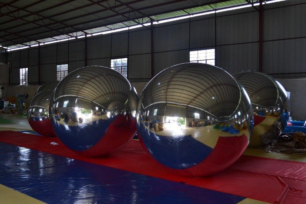 Fancy şişmə güzgü topu, suya davamlı güzgü - Açıq havada əyləncə və idman - Fotoqrafiya 2
