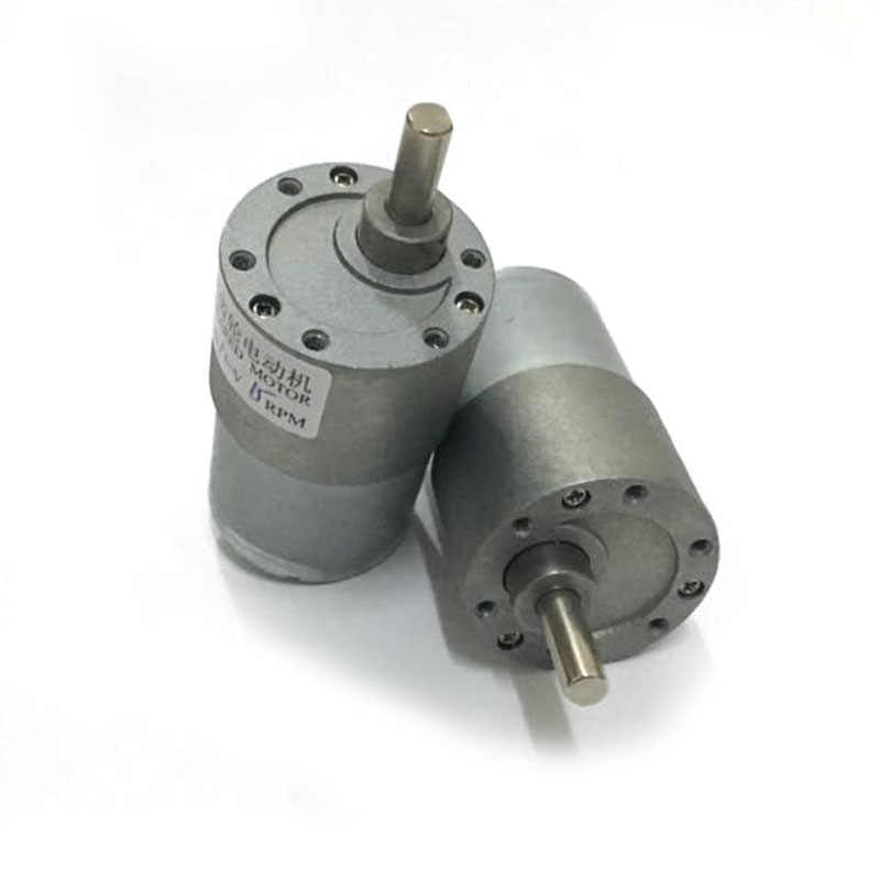 EBOWAN 37GB-3530 12 volt High Torque Gear Motor 24V 12v DC Electric Motor