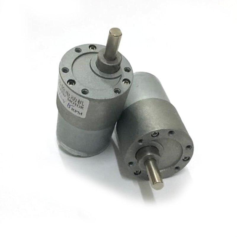 37MM caja de cambios DC Motor 12v dc engranaje motor excéntrico eje alto Torque