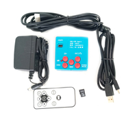 HD 16MP 1080P HDMI USB 4GB Storage Industrial Video Digital Microscope Camera Welding Microscope with HDMI USB Cable Free