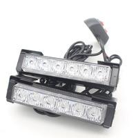 2X12 LED Auto Externe Licht Mistlamp Netto Waarschuwing Bulb Auto Strobe Flash Dagrijverlichting Lichtbron Brake Omkeren Lamp DRL