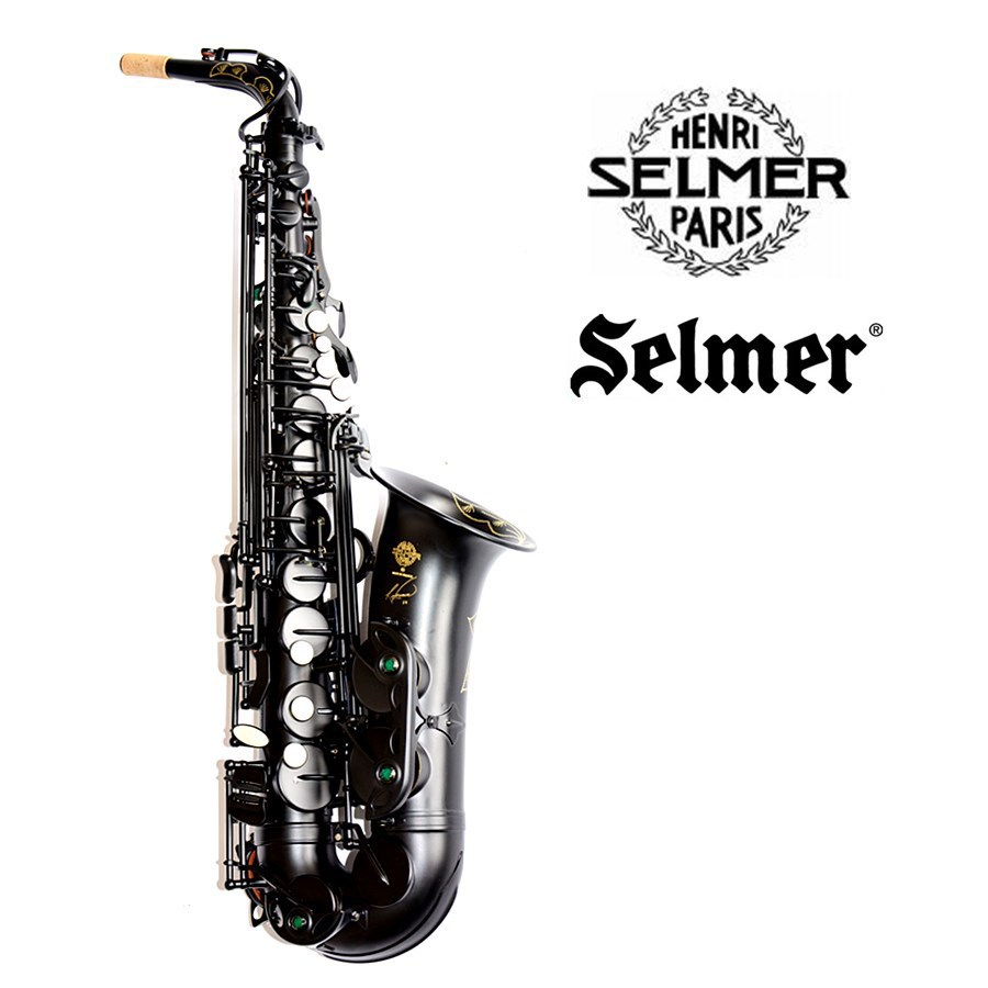 New France Black Alto Saxophone SELMER 54 E-flat Alto Saxophone Musical Pearl Black professional Fast Shipping alto saxophone selmer 54 brass silver gold key e flat musical instruments saxophone with cleaning brush cloth gloves cork strap