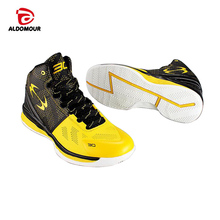 ALDOMOUR Newest Basketball Shoes 2017 Men Women Ankle Boots Anti-slip outdoor Sport Sneakers Plus Size EU 36-45 Free Shipping