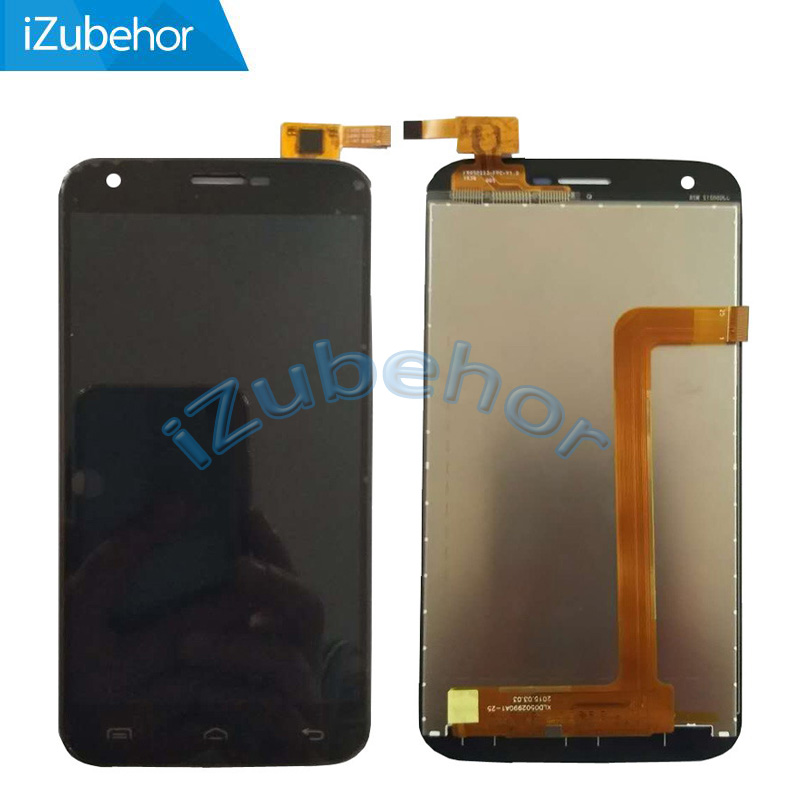 100% warranty black LCD DIsplay + Touch Screen Digitizer Assembly For <font><b>Doogee</b></font> <font><b>Valencia</b></font> <font><b>2</b></font> <font><b>Y100</b></font> <font><b>Pro</b></font> Free Shipping image